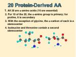 20 protein derived aa3