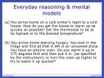 everyday reasoning mental models