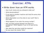 exercise atms