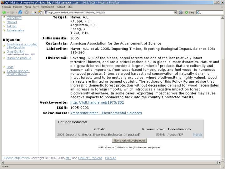 Teodora Oker-Blom, Avoimen julkaisemisen nykytilanne