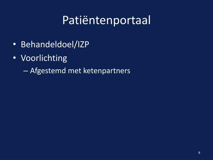 Patiëntenportaal