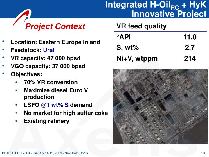 Integrated H-Oil