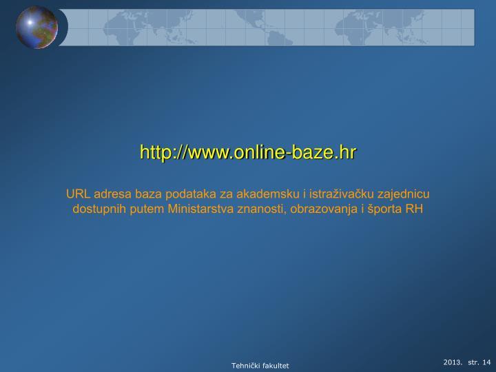 http://www.online-baze.hr