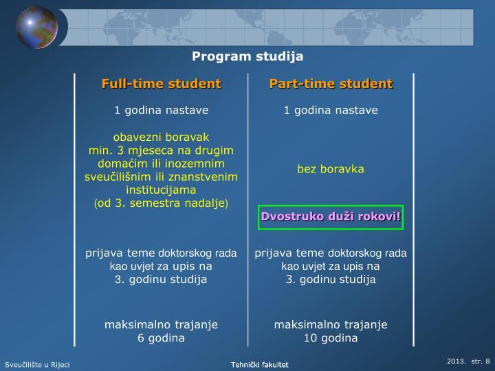 Program studija