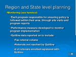region and state level planning1