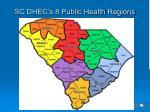 sc dhec s 8 public health regions