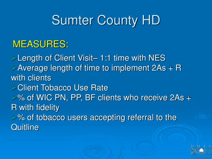Sumter County HD