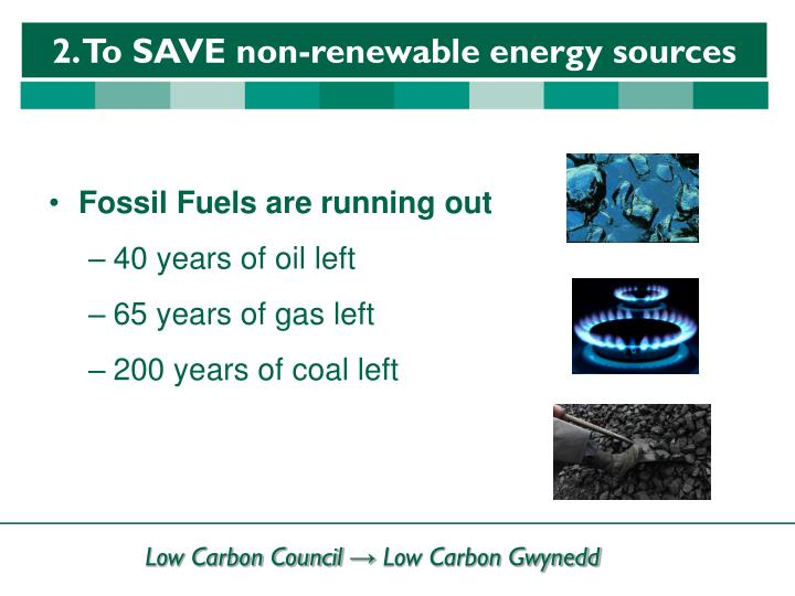 Fossil Fuels are running out