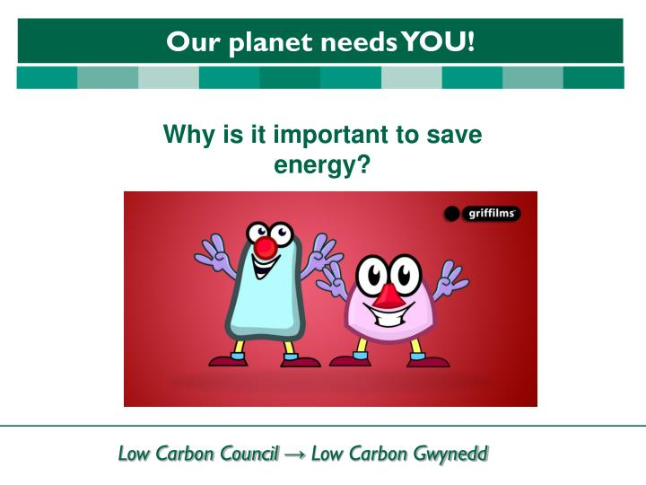 Why is it important to save energy?