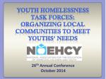 26 th annual conference october 2014