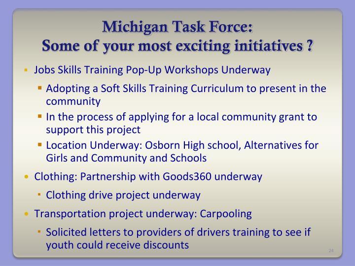 Michigan Task Force: