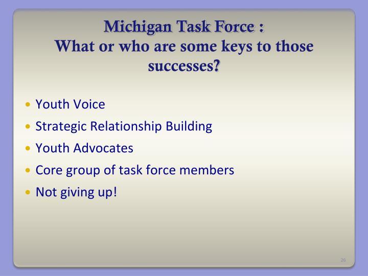 Michigan Task Force :