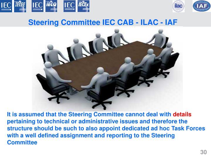 Steering Committee IEC CAB - ILAC - IAF