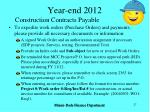 year end 201221