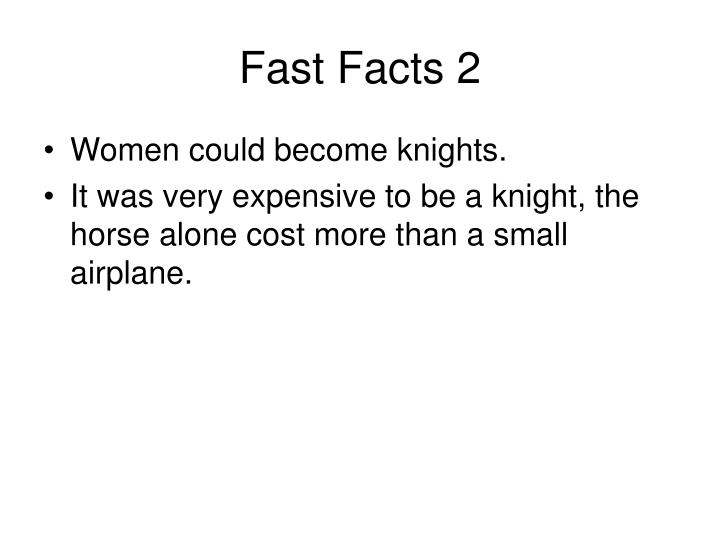 Fast Facts 2