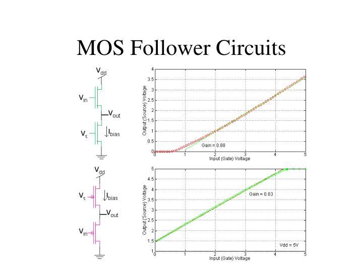 MOS Follower Circuits