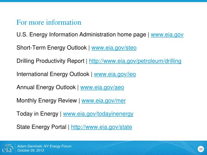 U.S. Energy Information Administration home page  
