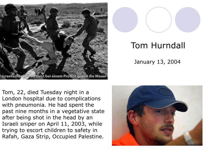 Tom Hurndall