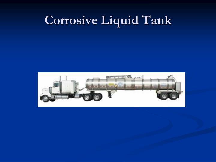 Corrosive Liquid Tank
