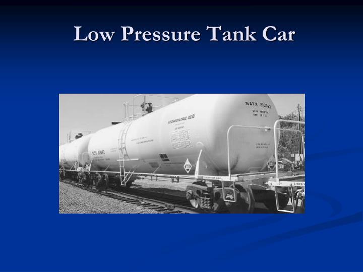 Low Pressure Tank Car