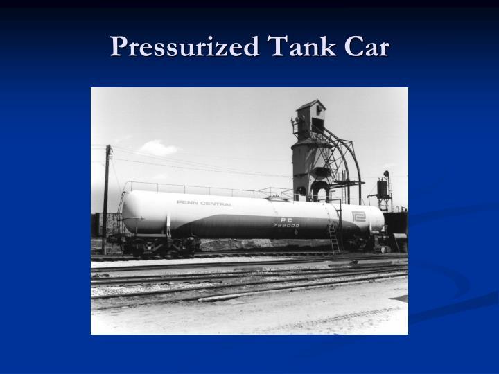 Pressurized Tank Car