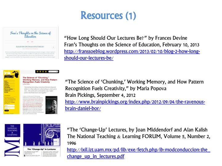 Resources (1)