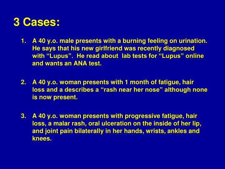 3 Cases: