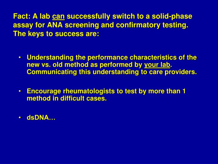 Fact: A lab