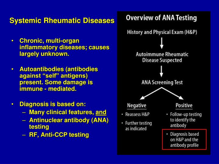 Systemic Rheumatic Diseases
