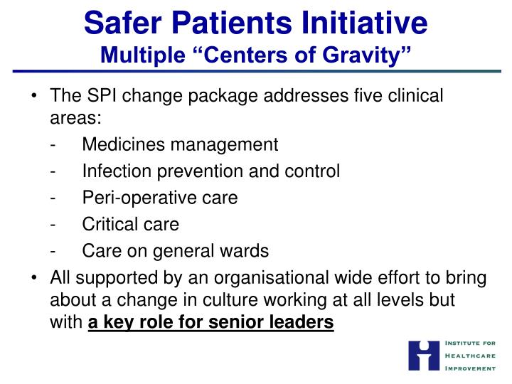 Safer Patients Initiative