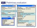 preliminary evaluation5