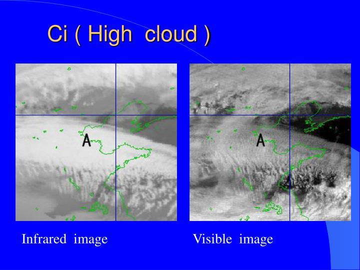 Ci ( High  cloud )
