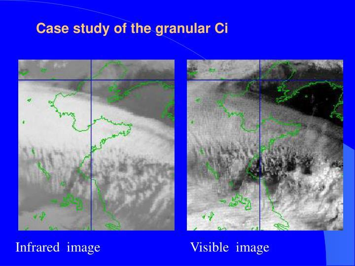 Case study of the granular Ci