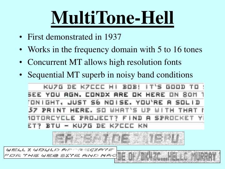 MultiTone-Hell