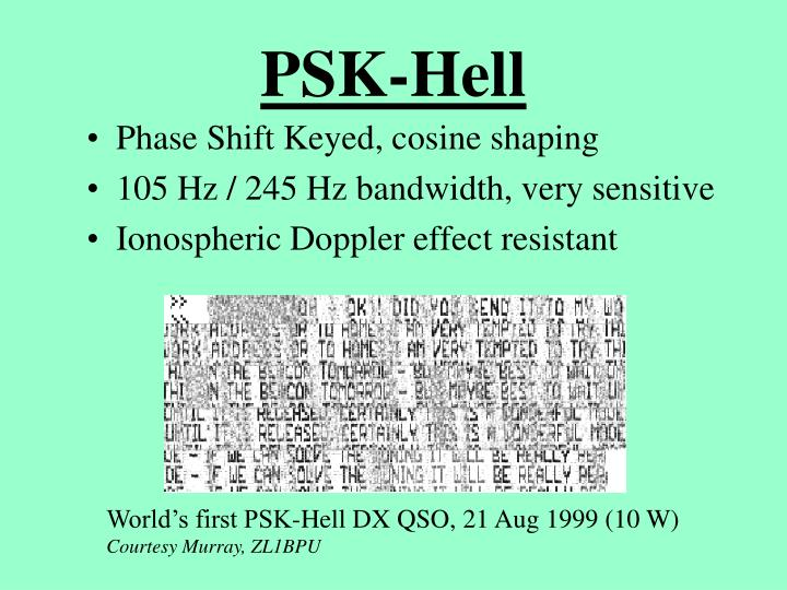 PSK-Hell