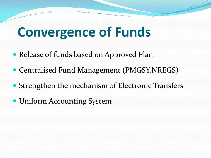 Convergence of Funds