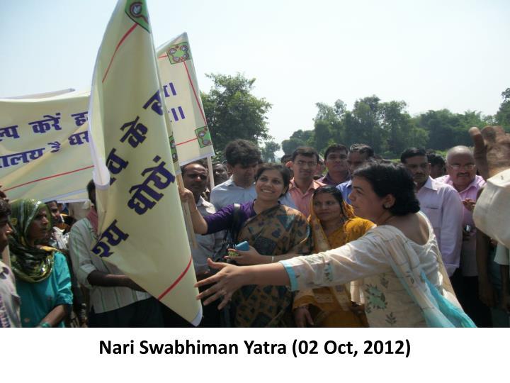 Nari Swabhiman Yatra (02 Oct, 2012)