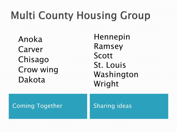 Multi County Housing Group
