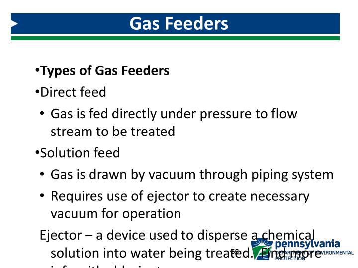 Gas Feeders