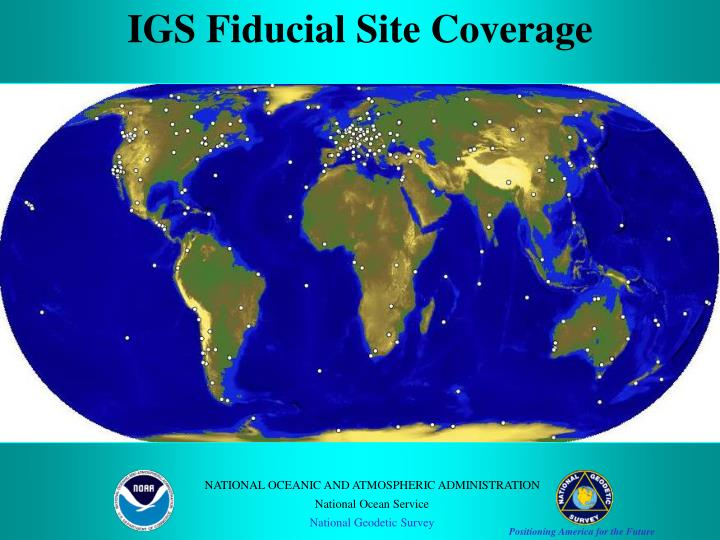 IGS Fiducial Site Coverage