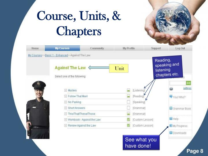 Course, Units, & Chapters
