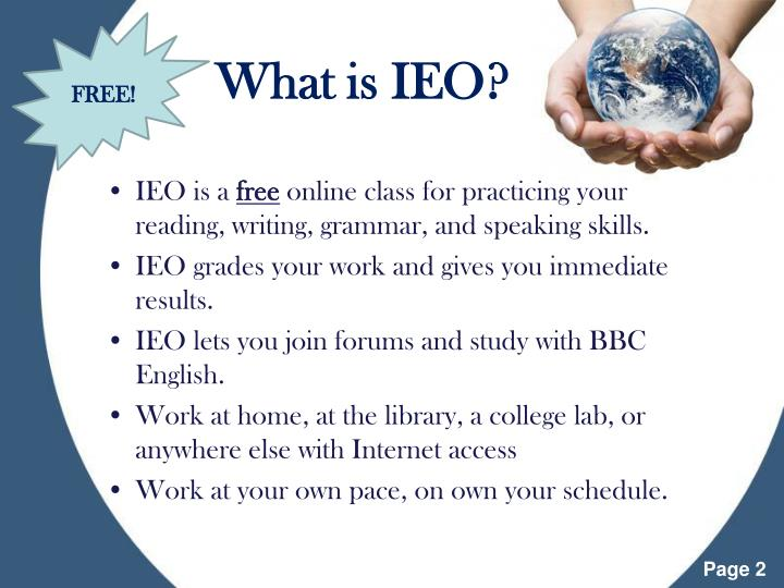 What is ieo