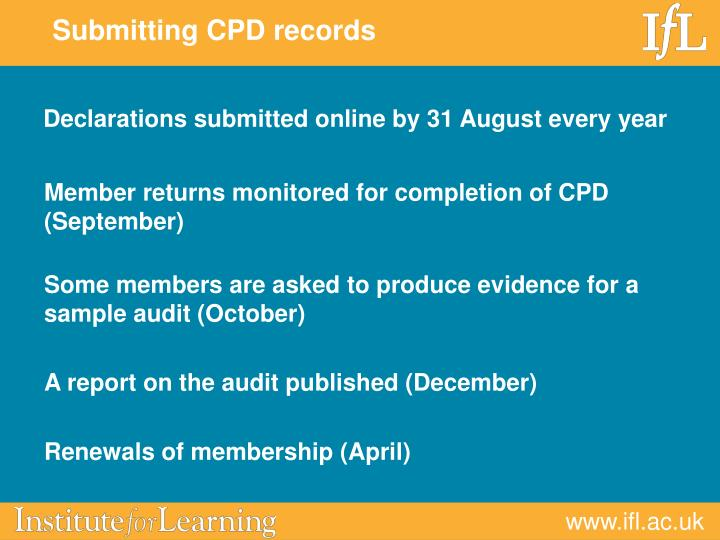 Declarations submitted online by 31 August every year