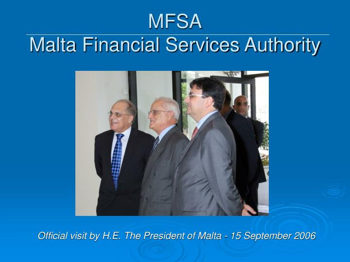 Mfsa malta financial services authority