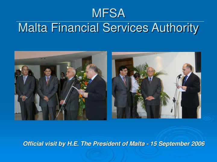 Mfsa malta financial services authority1