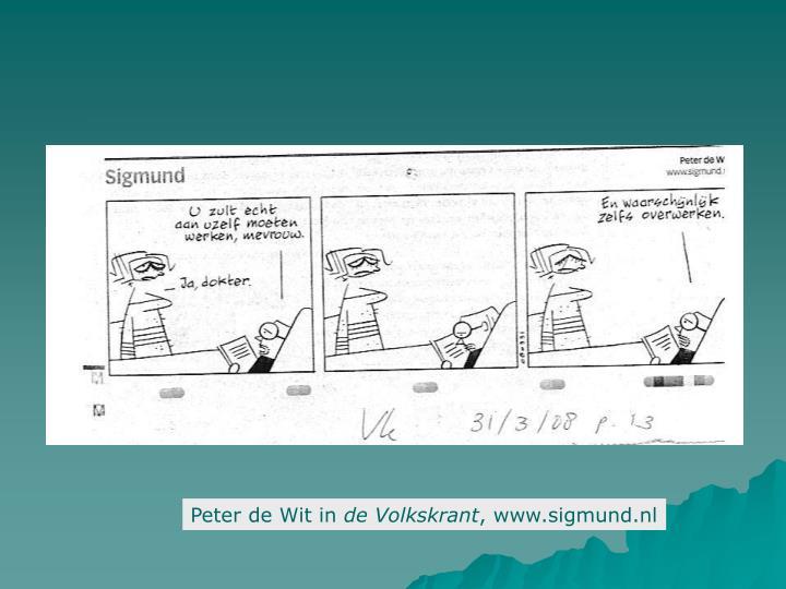 Peter de Wit in