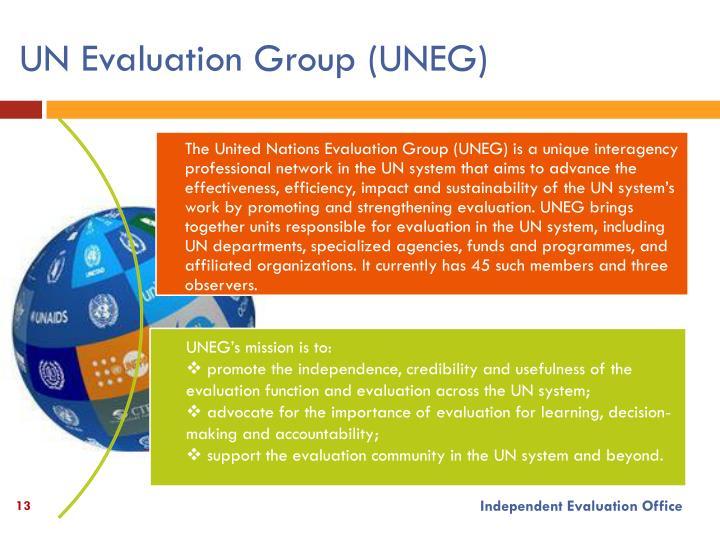 UN Evaluation Group (UNEG)