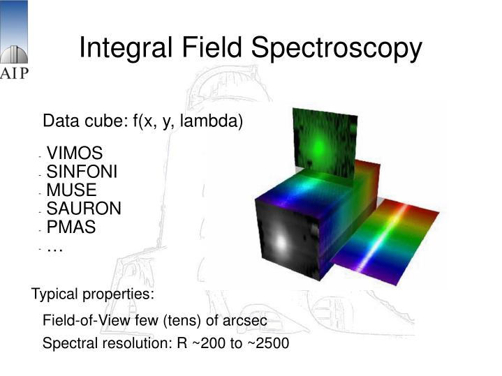 Integral Field Spectroscopy
