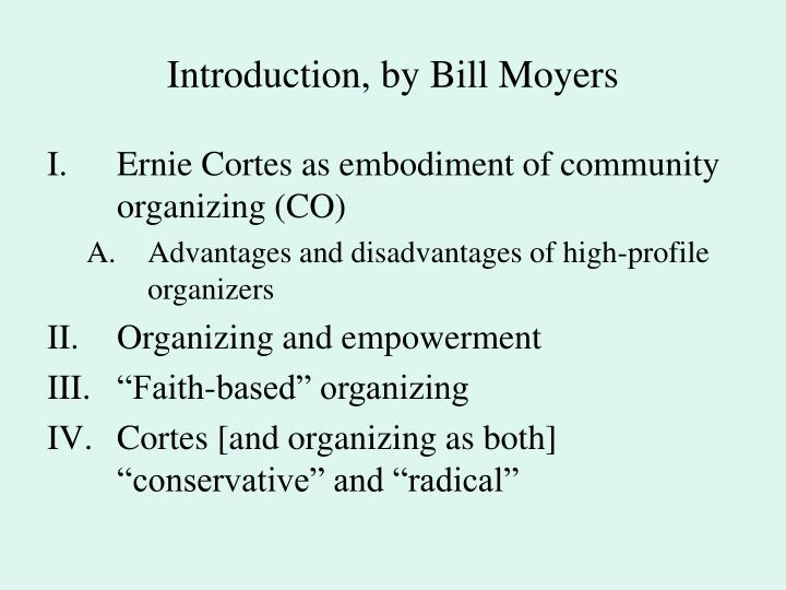 Introduction, by Bill Moyers