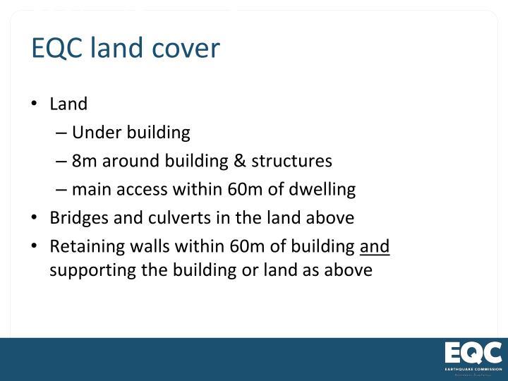 EQC Land Damage Cover